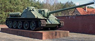 SU-100 Tankjager Fürstenberg/Havel