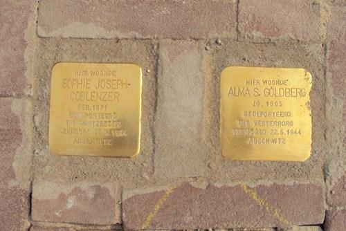 Stumbling Stones Spoorstraat 2