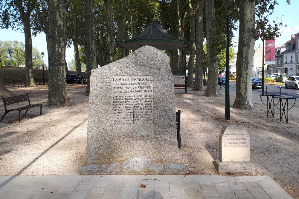 Deportation Monument Amboise