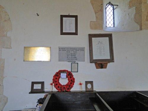 Roll of Honour Farnham Church