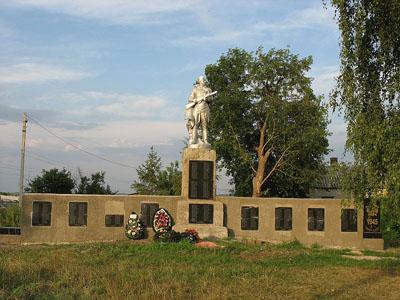 Mass Grave Soviet Soldiers Rozhdestvenskaya Khava