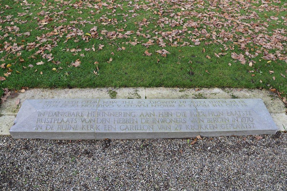 Monument Burgerslachtoffers Algemene Begraafplaats Bergen