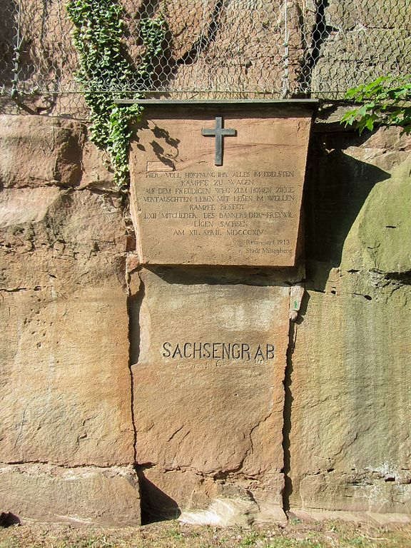 Massagraf Saksische Soldaten Miltenberg