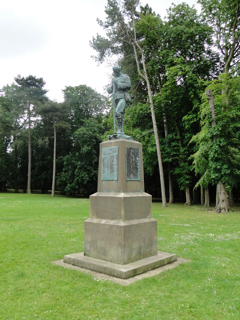 Boer War Memorial Suffolk