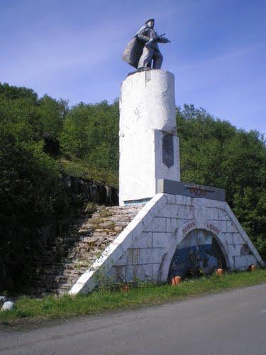 Bevrijdingsmonument Liinakhamari