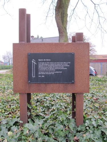 Monument 'Sporen die bleven' Panheel