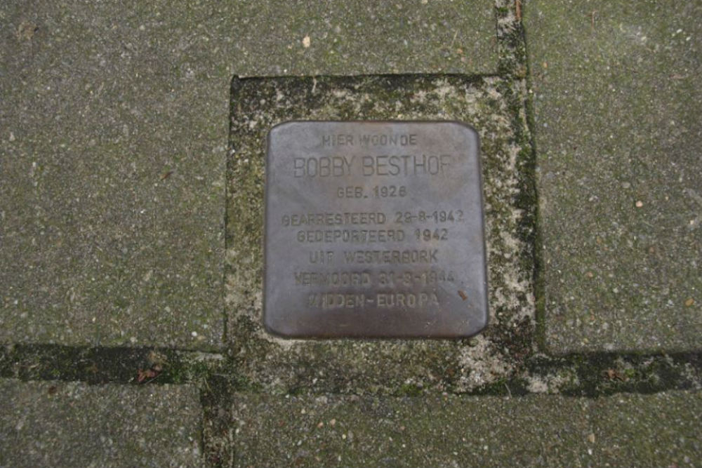 Stumbling Stone Emmastraat 191