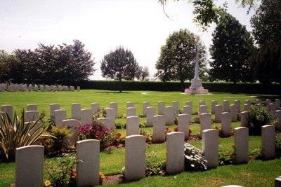 Oorlogsbegraafplaats van het Gemenebest Minturno