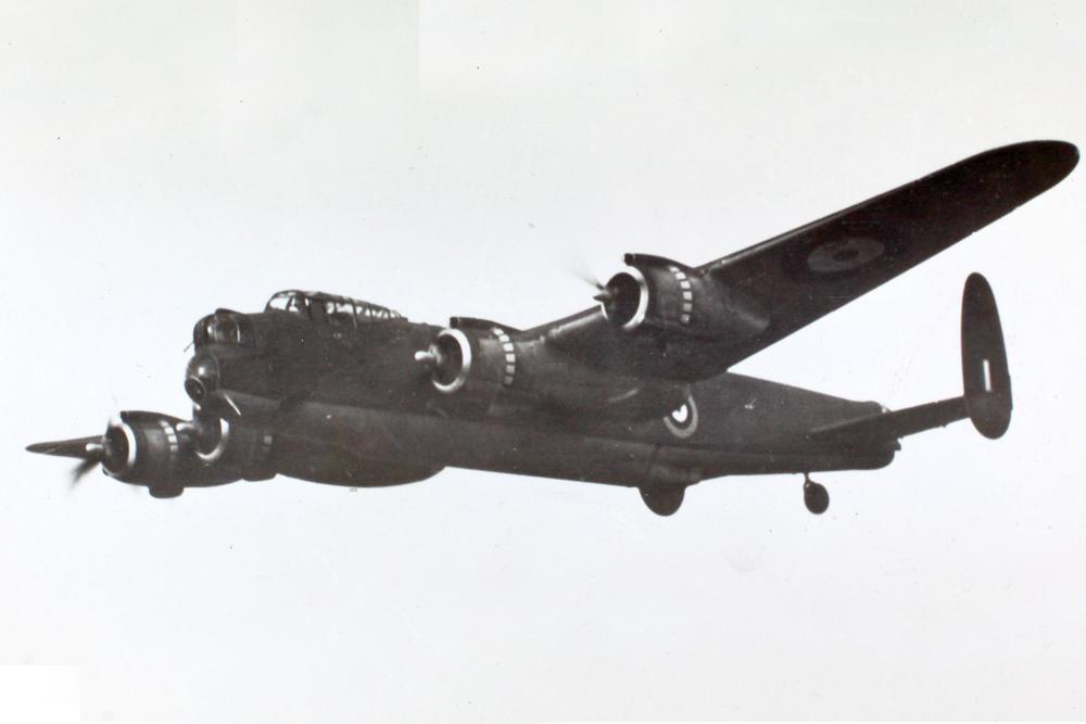 Crashlocatie & Restant Avro Lancaster DV 202 (KM-Z)