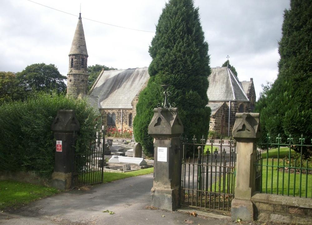 Oorlogsgraven van het Gemenebest Harlow Hill Cemetery