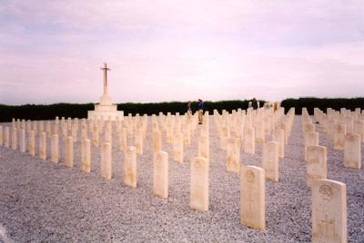 Commonwealth War Cemetery Oued Zarga