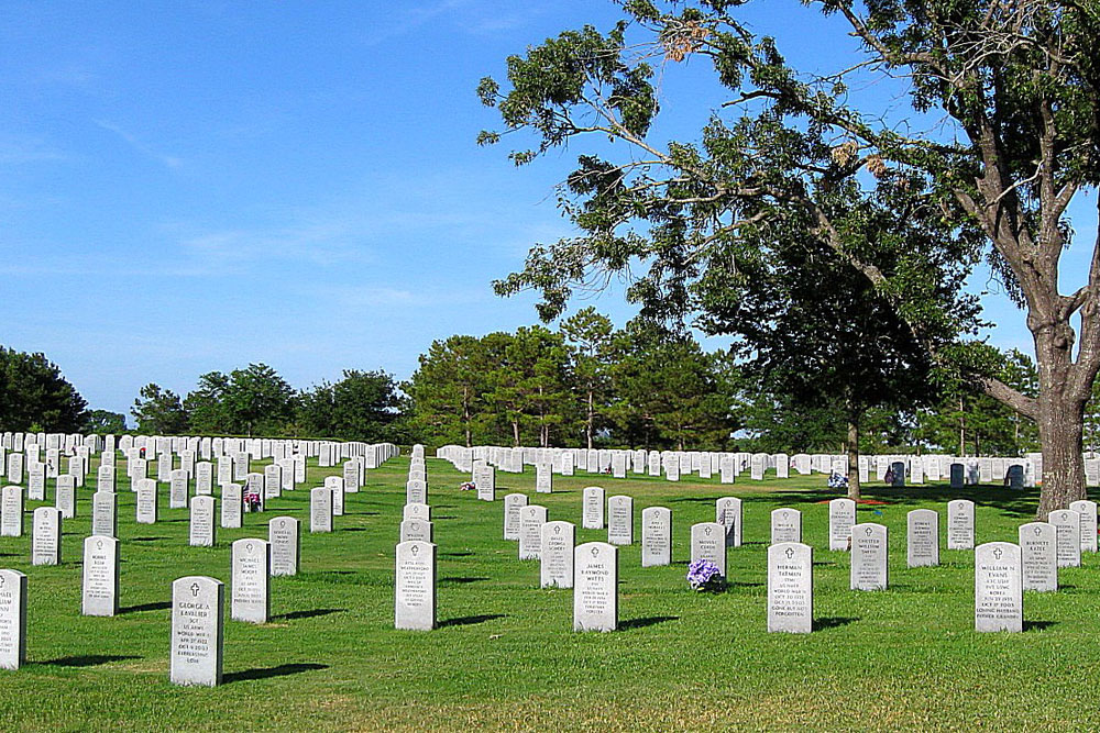 Amerikaanse Oorlogsgraven Houston National Cemetery