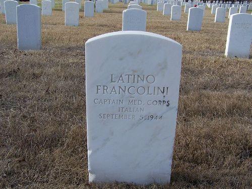 Italian War Grave Fort Sam Houston National Cemetery