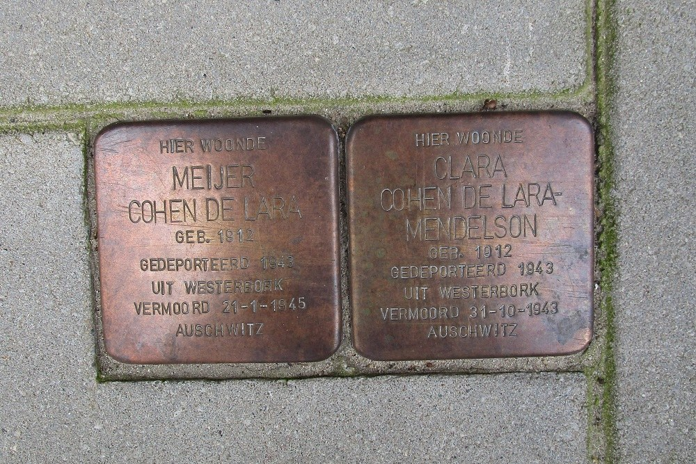 Remembrance Stones Jekerstraat 15-III