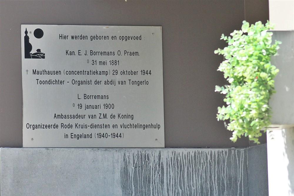 Gedenkplaat Emile 'Jules' Borremans Aarschot