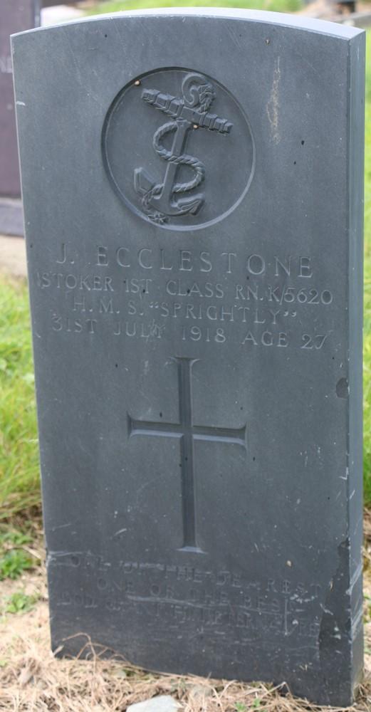 Commonwealth War Graves Maeshyfryd Church Cemetery