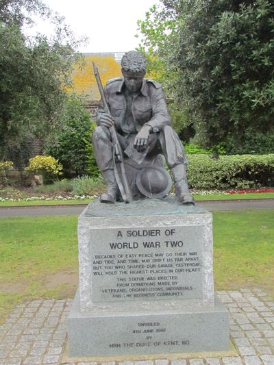 Monument Soldaat WO2 Portsmouth