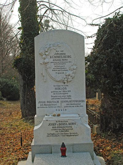 Remembrance Text New Jewish Cemetery Wien Simmering