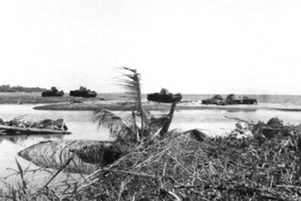 Remains Type 97 Chi-Ha Tanks