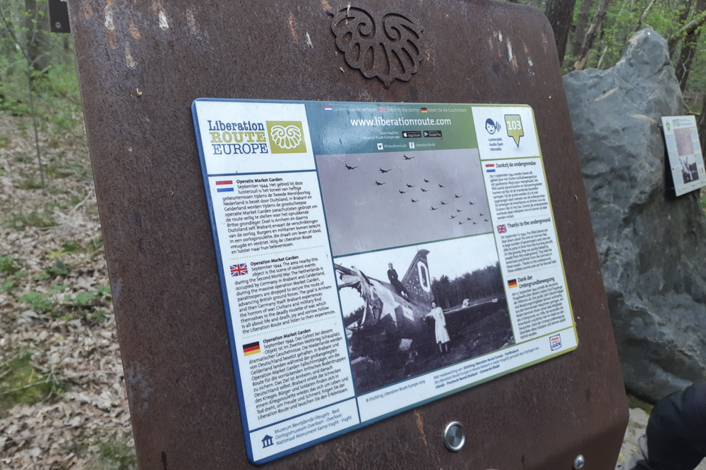 Liberation Route Marker 103