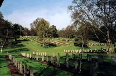 German War Cemetery Cannock Chase