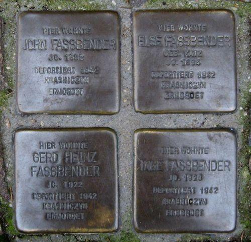 Stumbling Stones Marktstraße 60