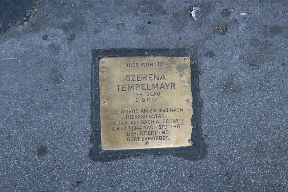 Remembrance stone Neubaugürtel 18