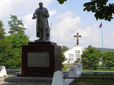 Mass Grave Soviet Soldiers Berezhany 1944