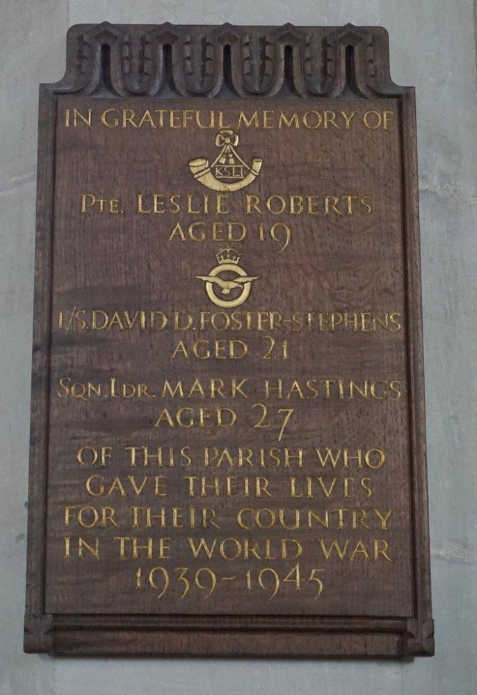 World War II Memorial Tong