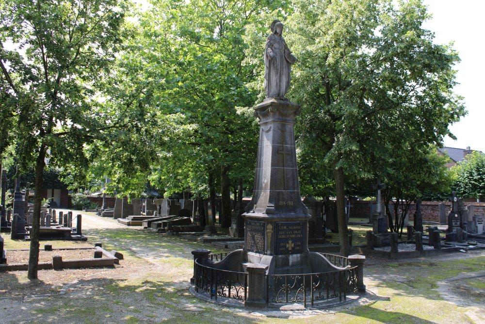 Oorlogsmonument Begraafplaats Neerpelt