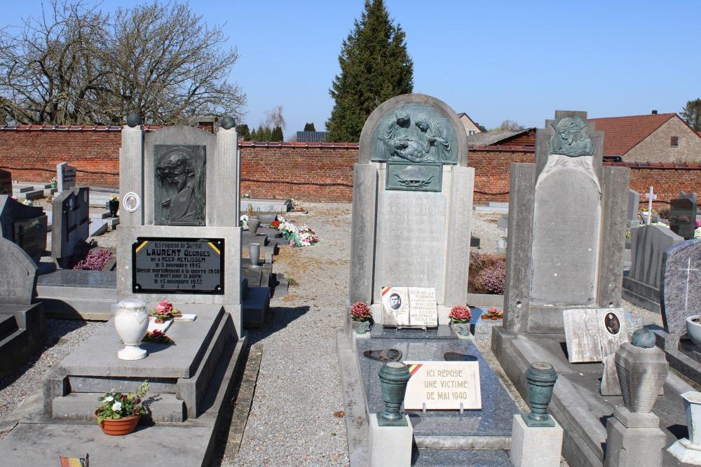 Belgische Oorlogsgraven Neerheylissem