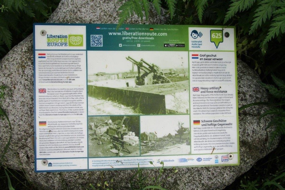 Liberation Route Marker 625