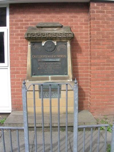 War Memorial Castleford