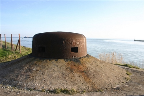 Bunker type 114 A-Neu in Kernwerk Vlissingen