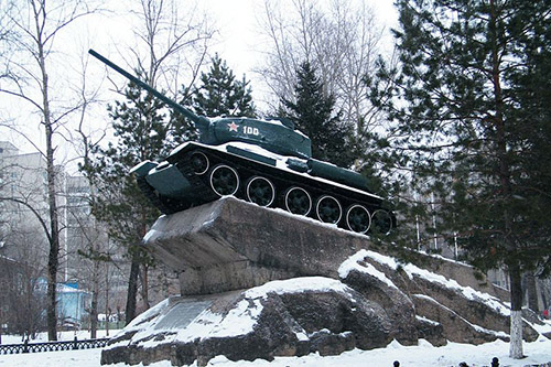 Memorial Tankistst in the Far East (T-34/85 Tank)