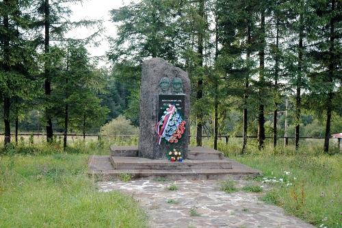 Sovjet Monument Uzhok Pas