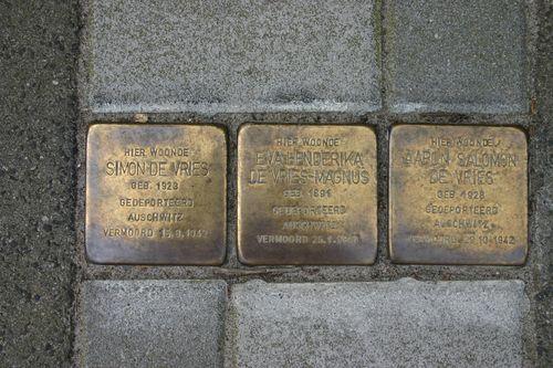 Stumbling Stones Annerweg 13