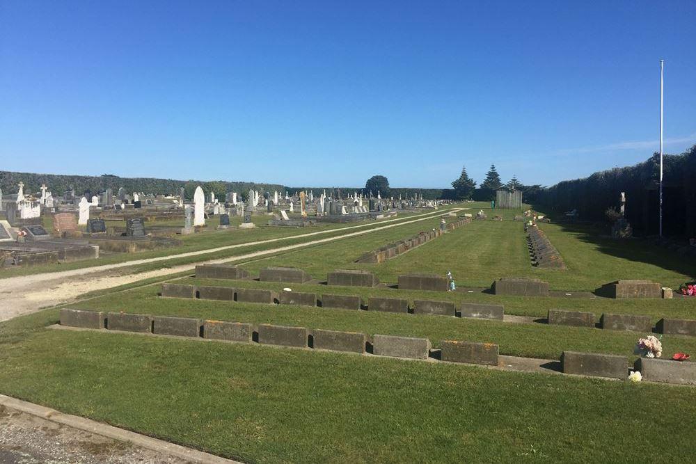 Oorlogsgraven van het Gemenebest Manaia Cemetery