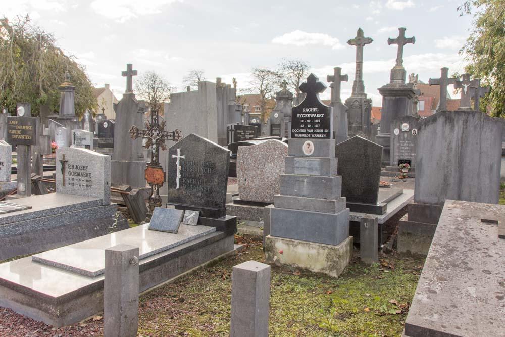 Belgian War Graves Veurne