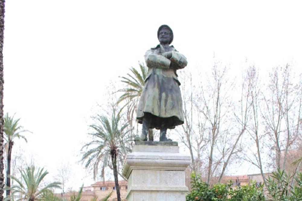 Monument Gaetano Bucceri, Villa Bonanno Park Palermo