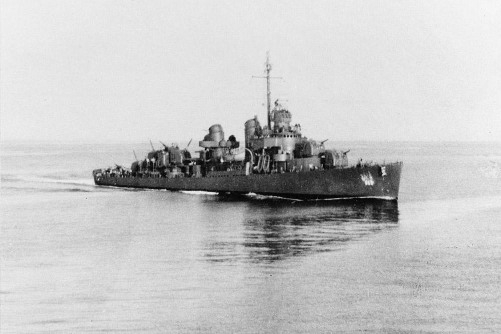 Shipwreck USS De Haven (DD-469)