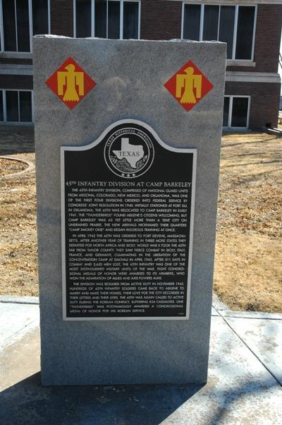 Memorial 45st Infantry Division