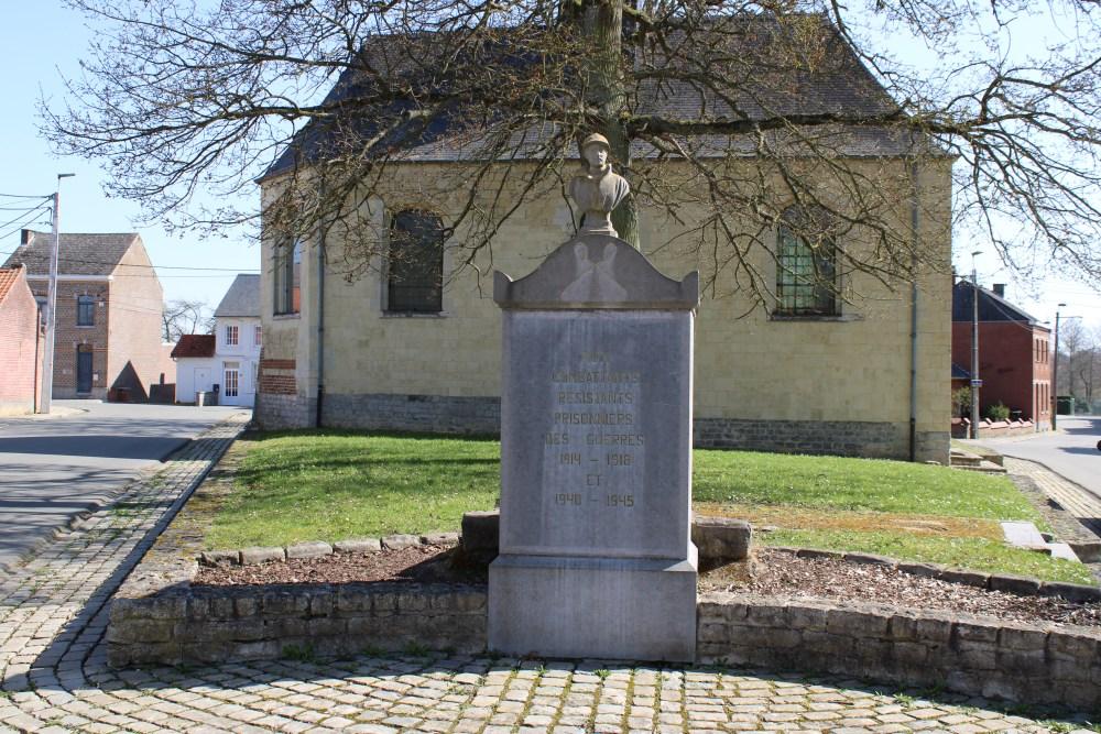 Oorlogsmonument Linsmeau