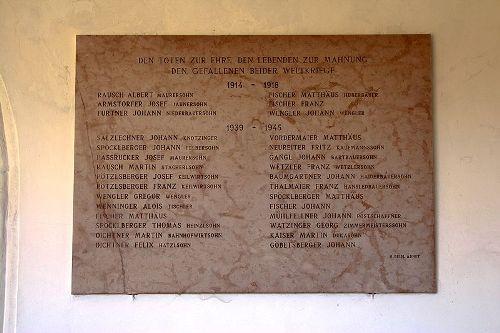 War Memorial Niederarnsdorf