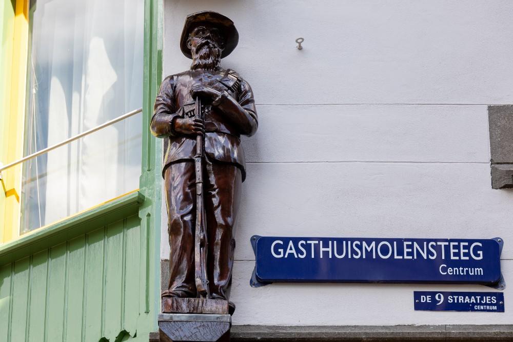 Monument 'De Transvaalsche Boer'
