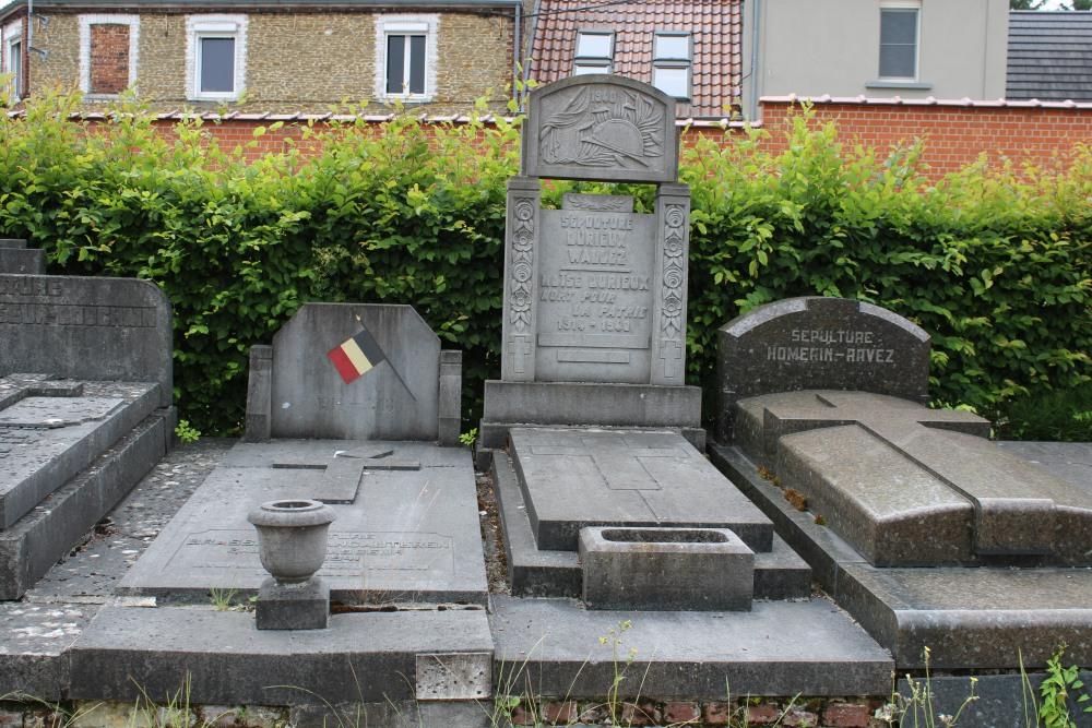 Belgian War Graves Péruwelz