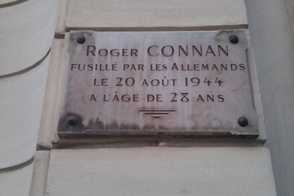 Plaque Roger Connan