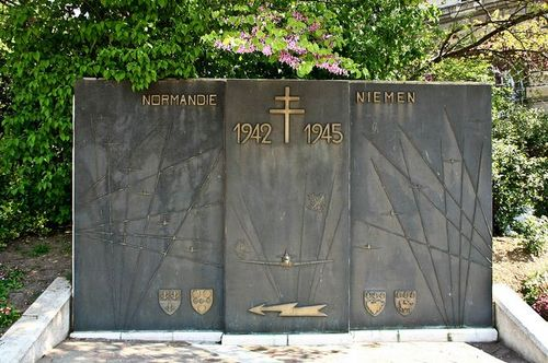 Monument Normandie-Niemen Regiment Rouen