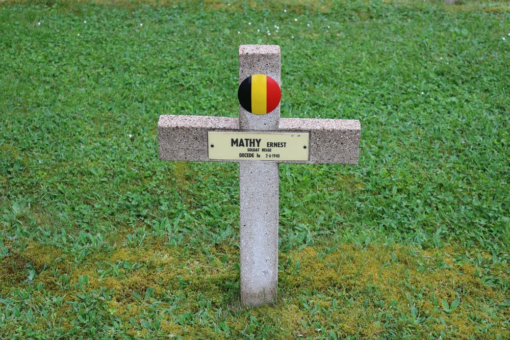 Belgisch Oorlogsgraf Haguenau