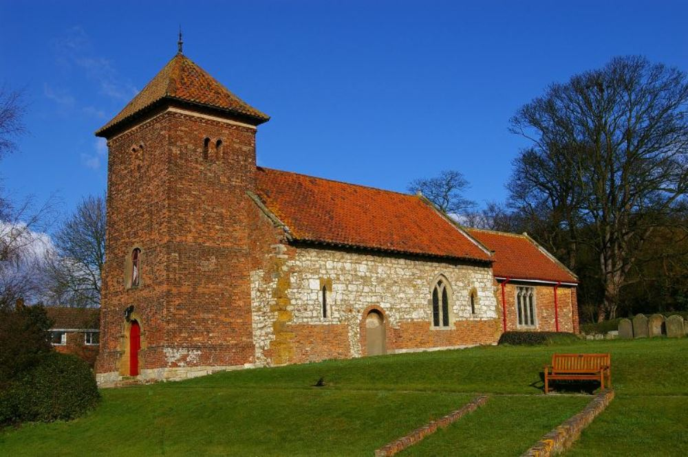Brits Oorlogsgraf St. Andrew Churchyard